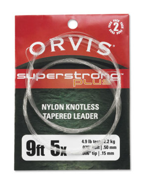 Orvis Super Strong - Taperede nylon forfang - 2 stk.