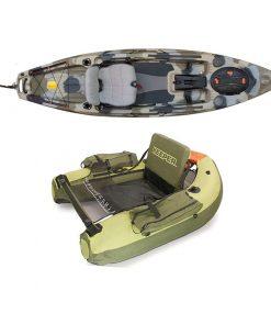 Belly Boat/tilbehør til bådfiskeri