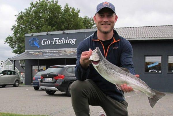 Mikkel Egedorf Odense 1,795 kg 54 cm på flue Knudshoved