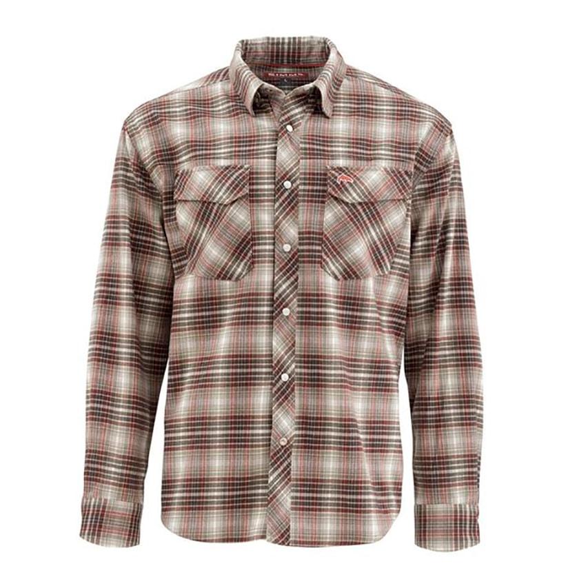 c95c535b Simms Gallatin Stretch Flannel Skjorte | Go-Fishing
