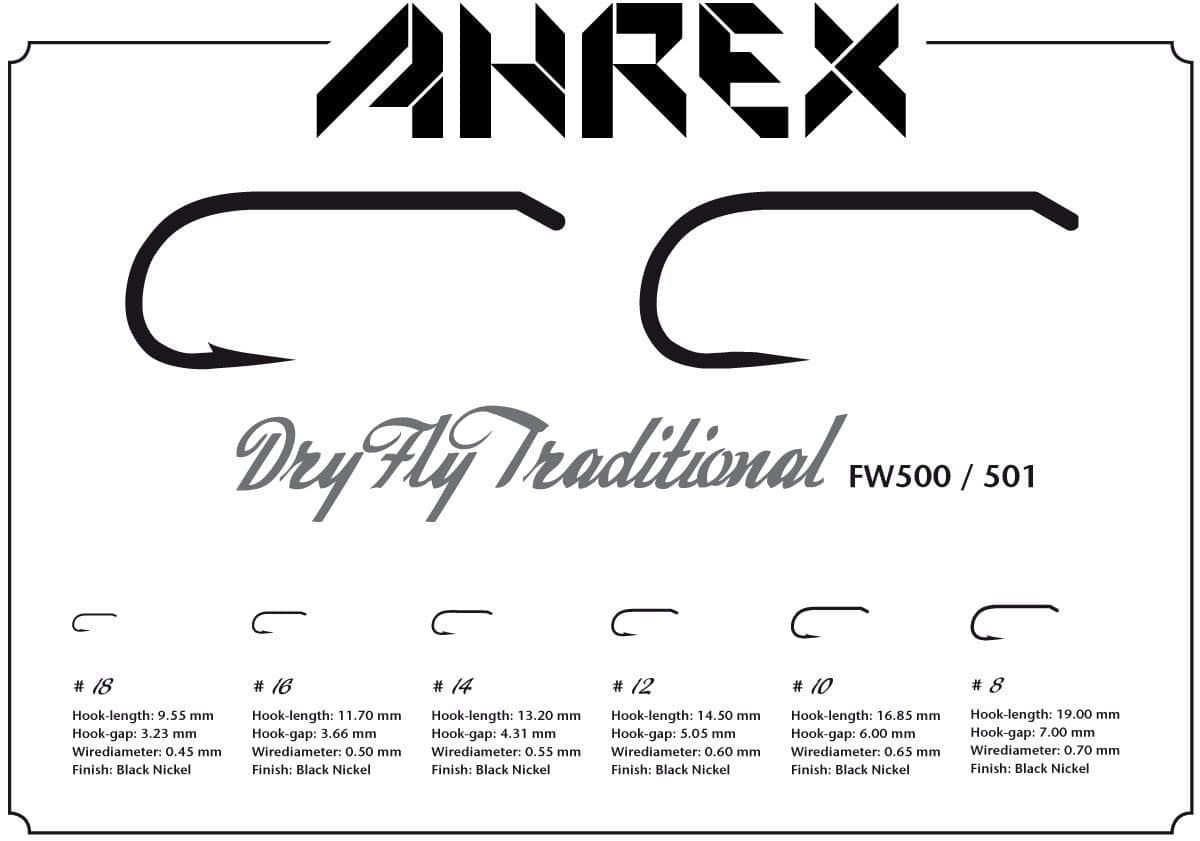 AHREX FW500 – DRY FLY TRADITIONAL