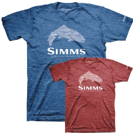 Simms-Stacked-Typo-Logo-T-Shirt-red