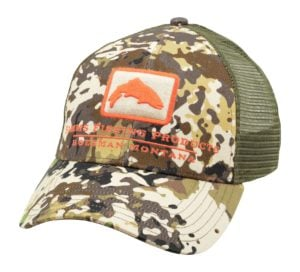 Simms Trout Icon Trucker Cap River Camo