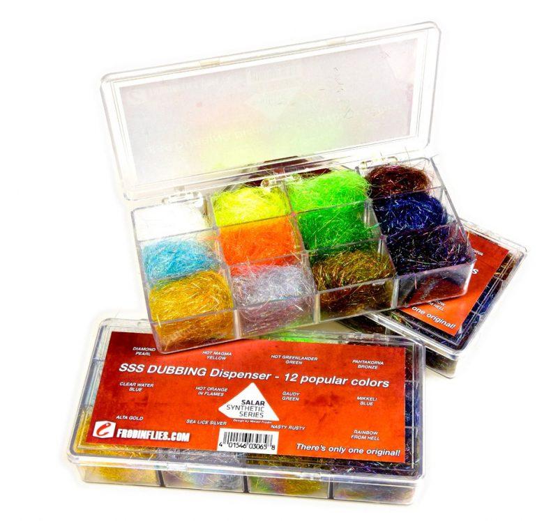 SSS Dubbing - 12 Colors Dispenser-Michael Frödin