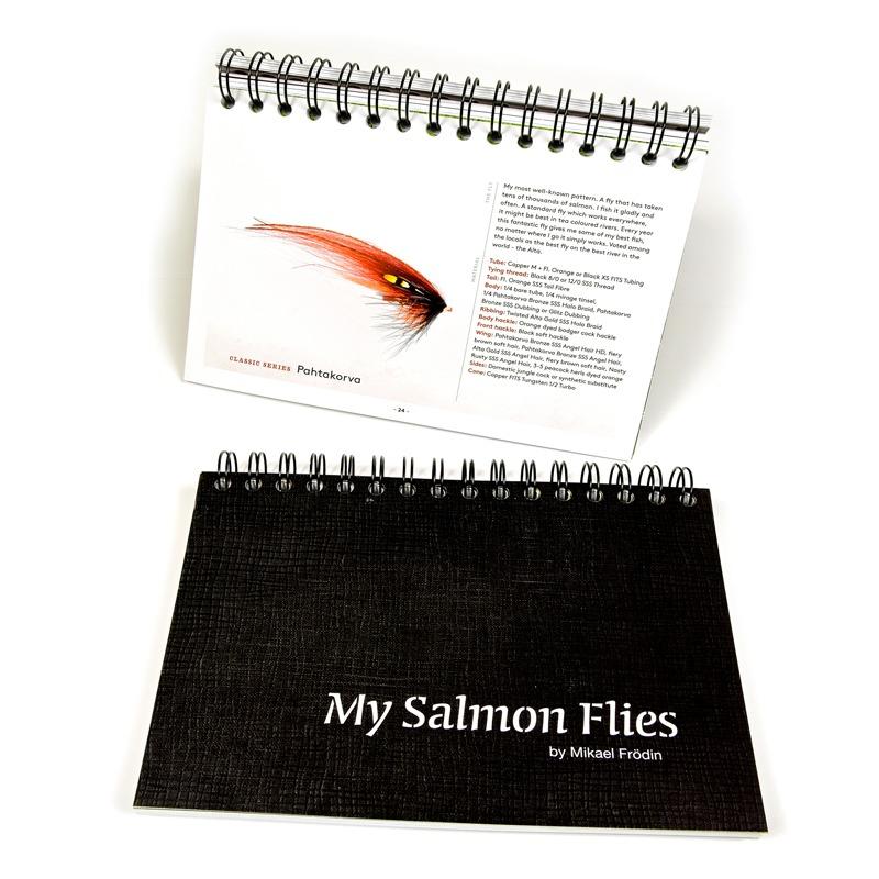 My Salmon Flies - Frödin Flies ,Salmon Flies,Laksefluer,Laksefiskeri,Fluebinding,Fluebindings Bog,Mikael Frödin