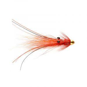 Snaelda-Flies red/gold