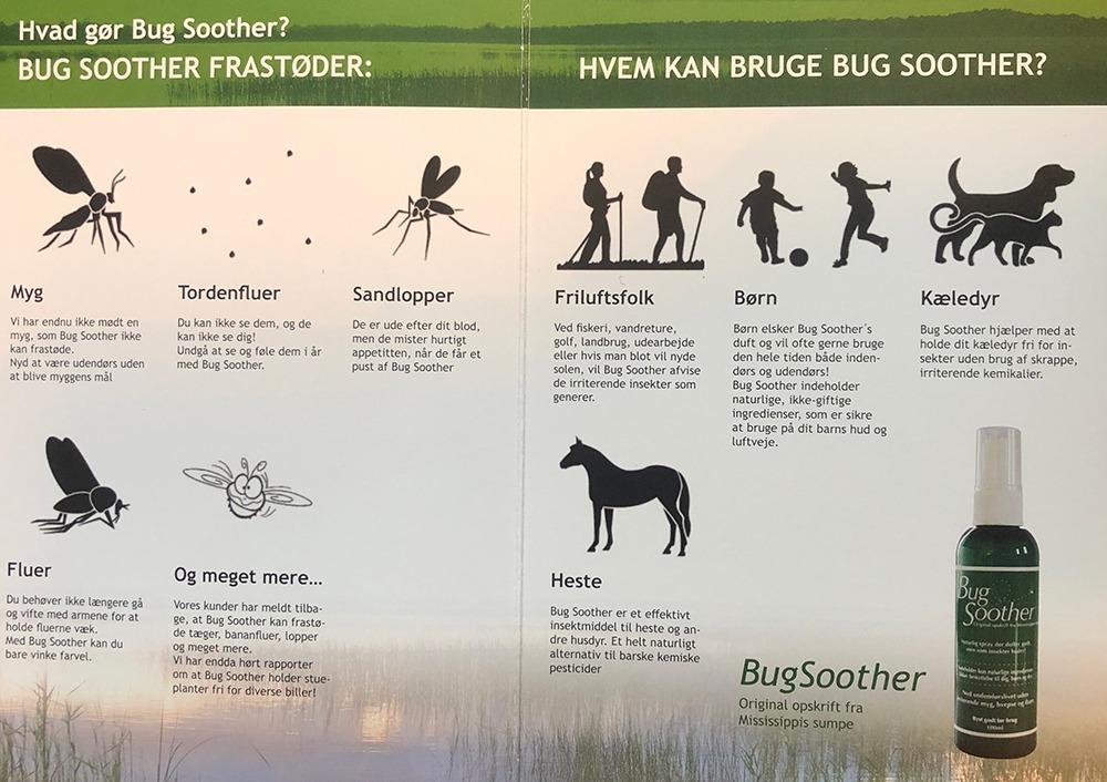 Bug Soother Myggespray - Økologisk