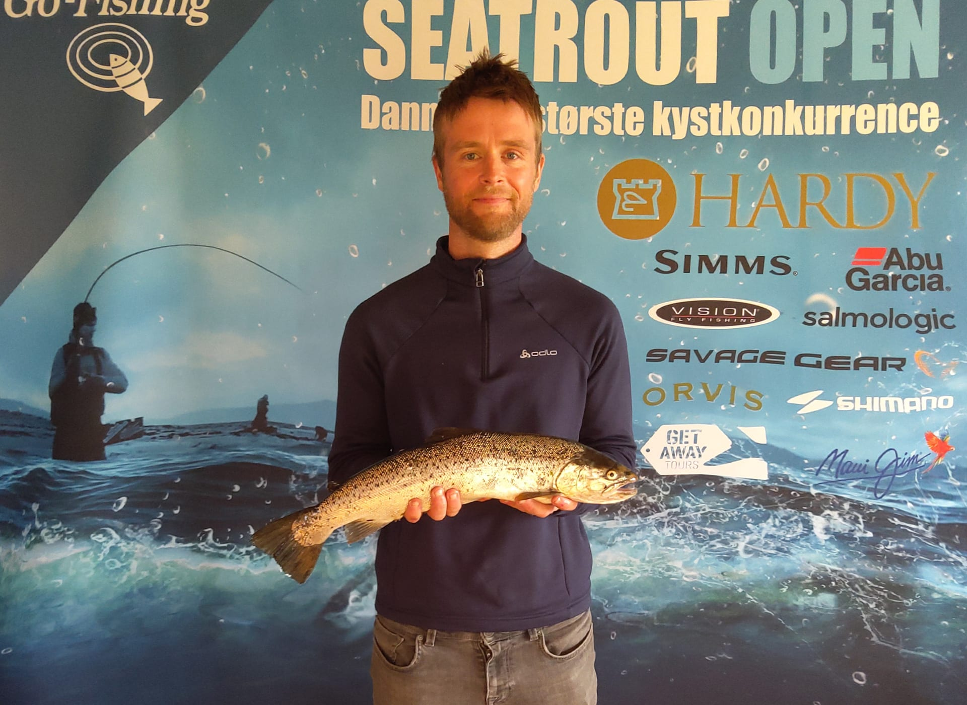 Seatrout Open deltager Claus Pedersen