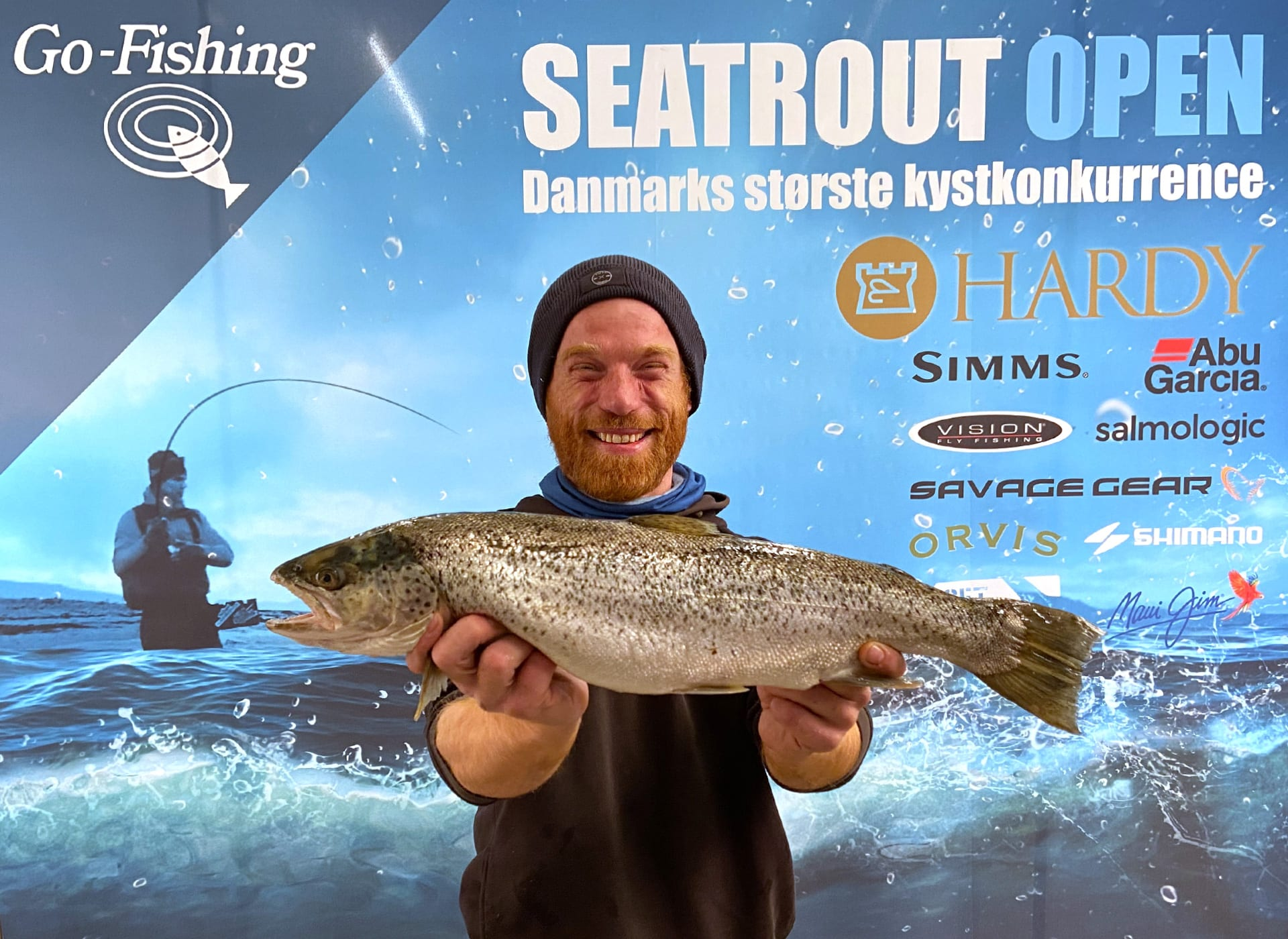 Seatrout Open deltager Hasse Gunnar
