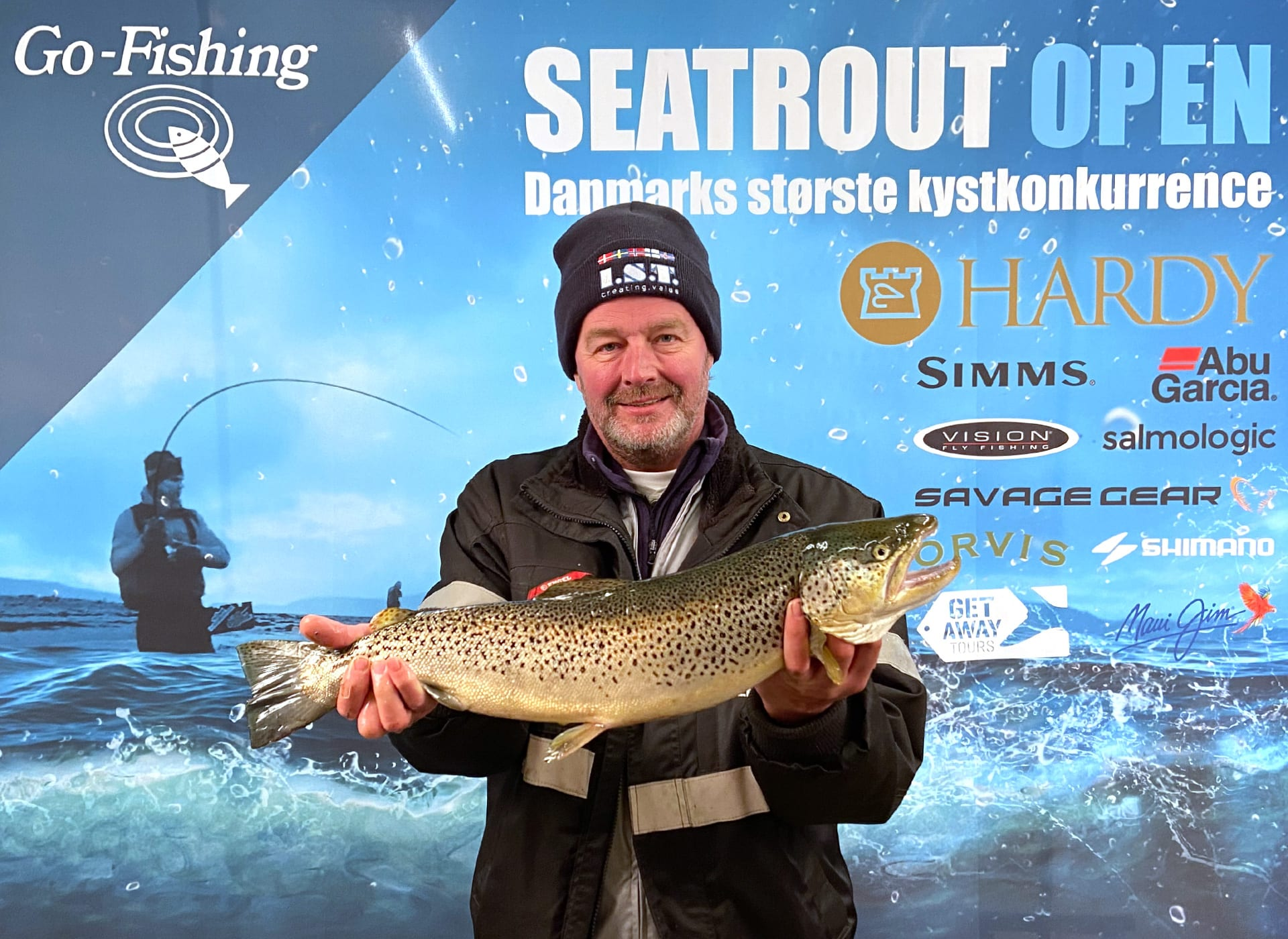 Seatrout Open deltager Jens Andreasen