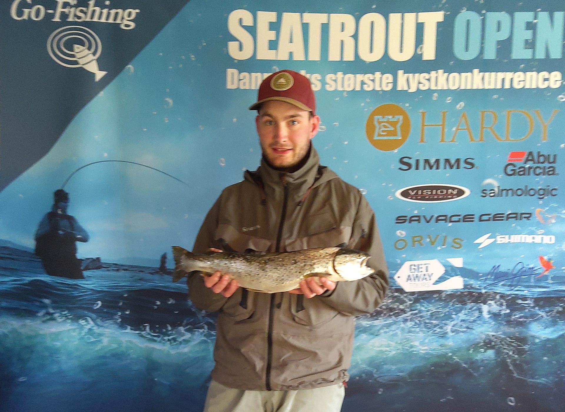 Seatrout Open deltager Jens Pedersen