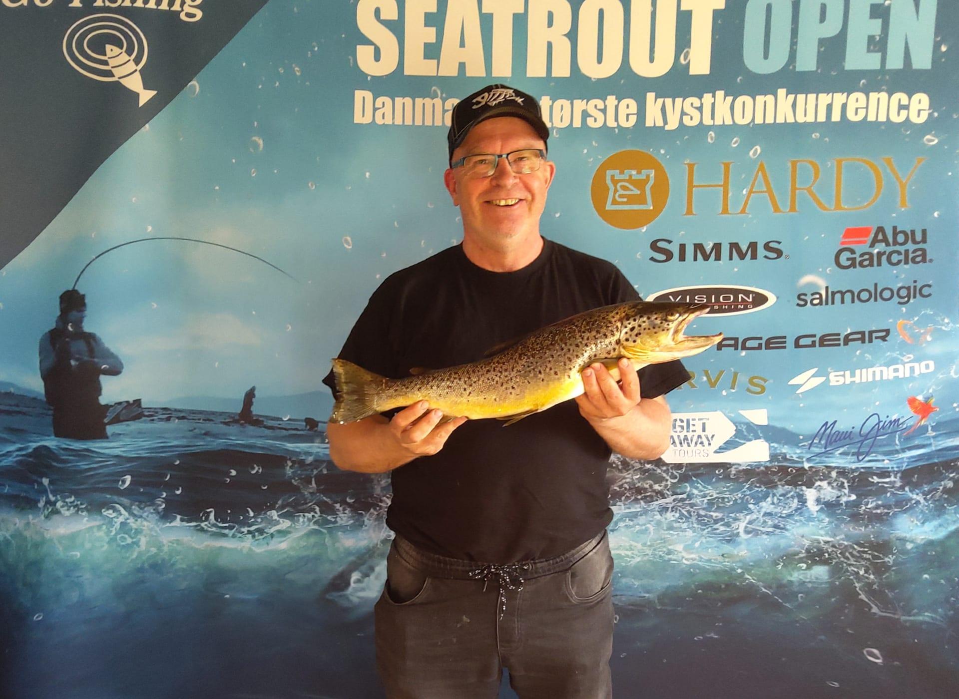 Seatrout Open deltager Poul Olsen