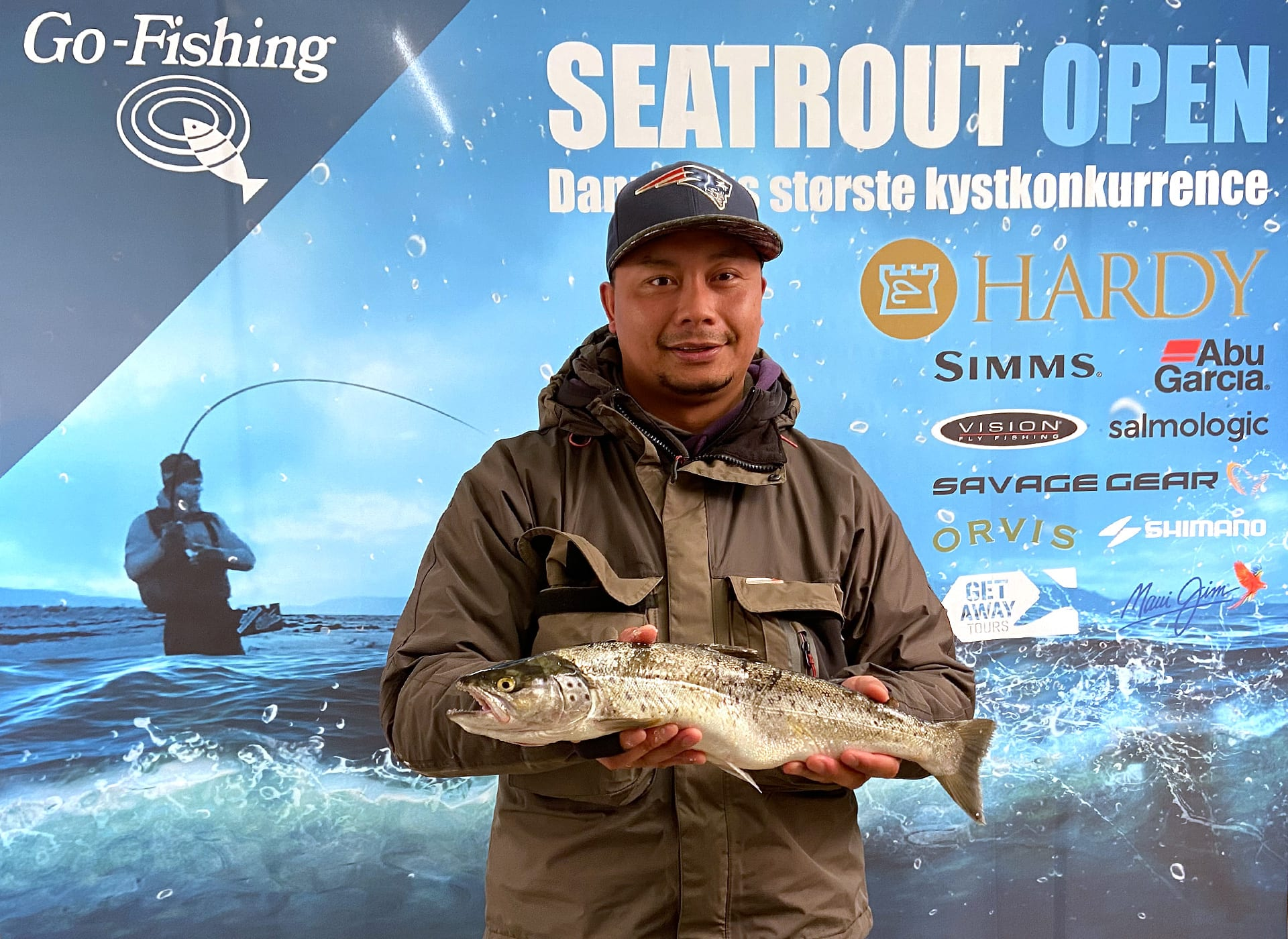 Seatrout Open deltager Semmy Woundenberg