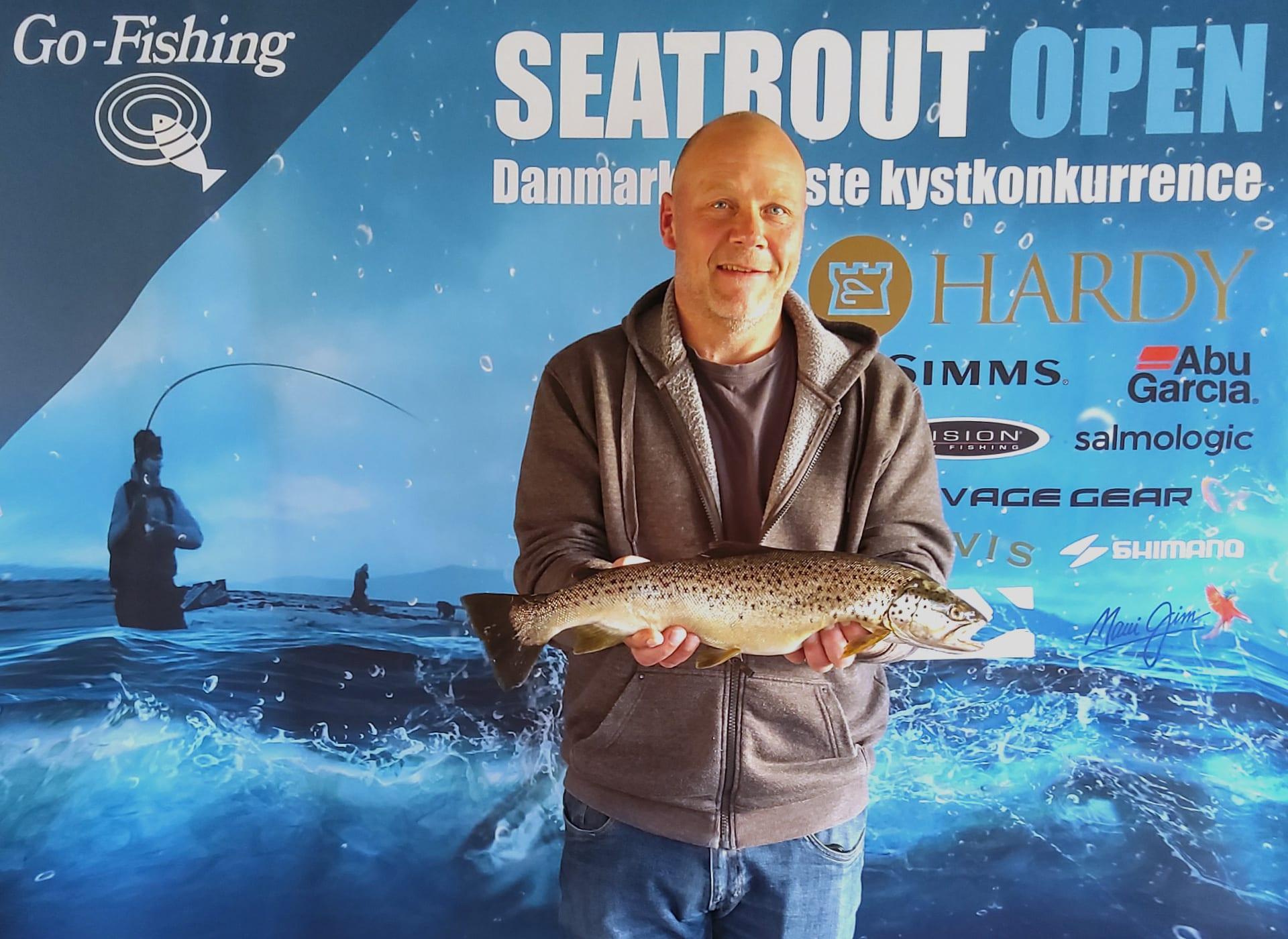 Seatrout Open deltager Steen Jæger