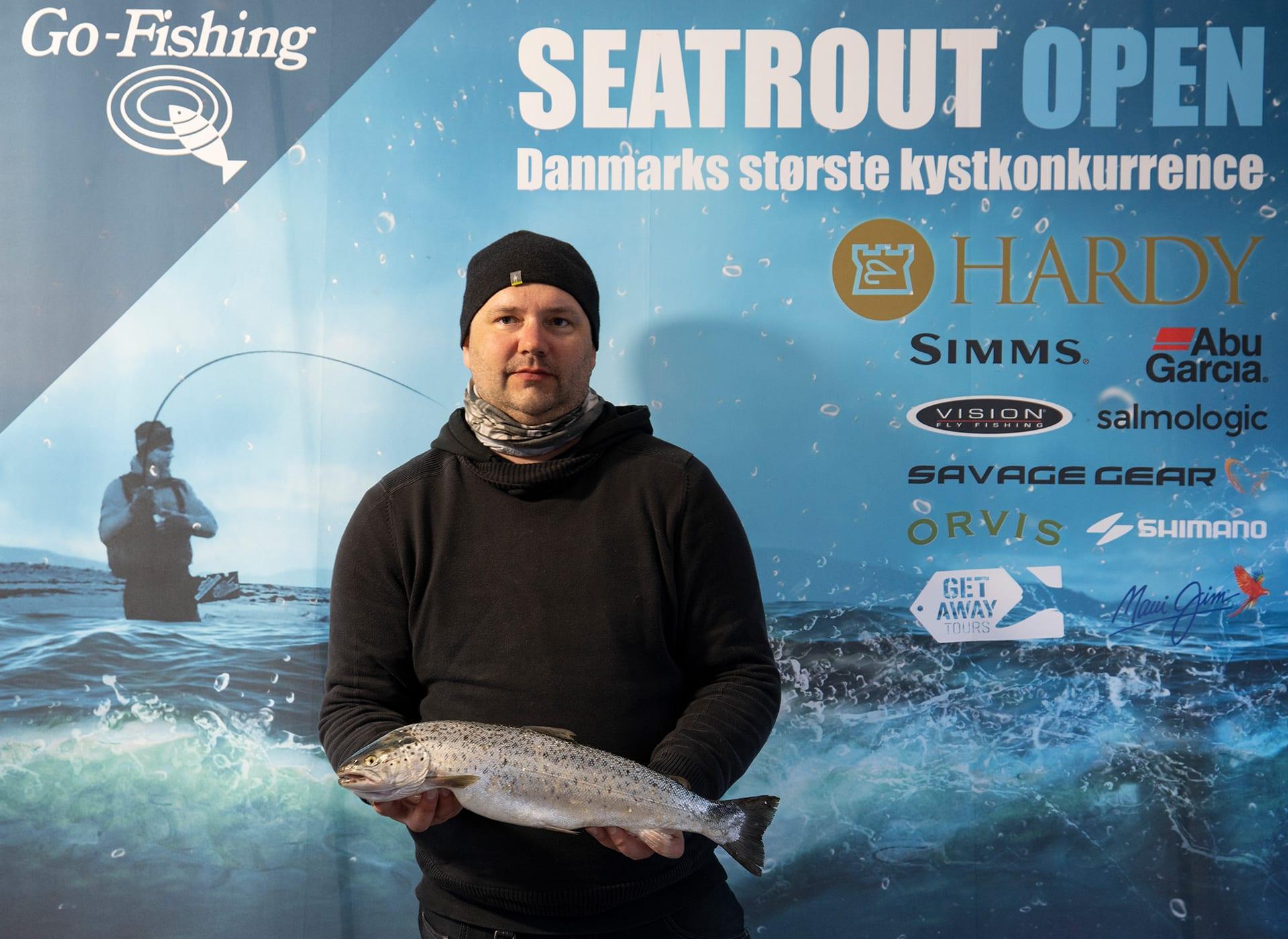 Seatrout Open deltager Kim Thomsen