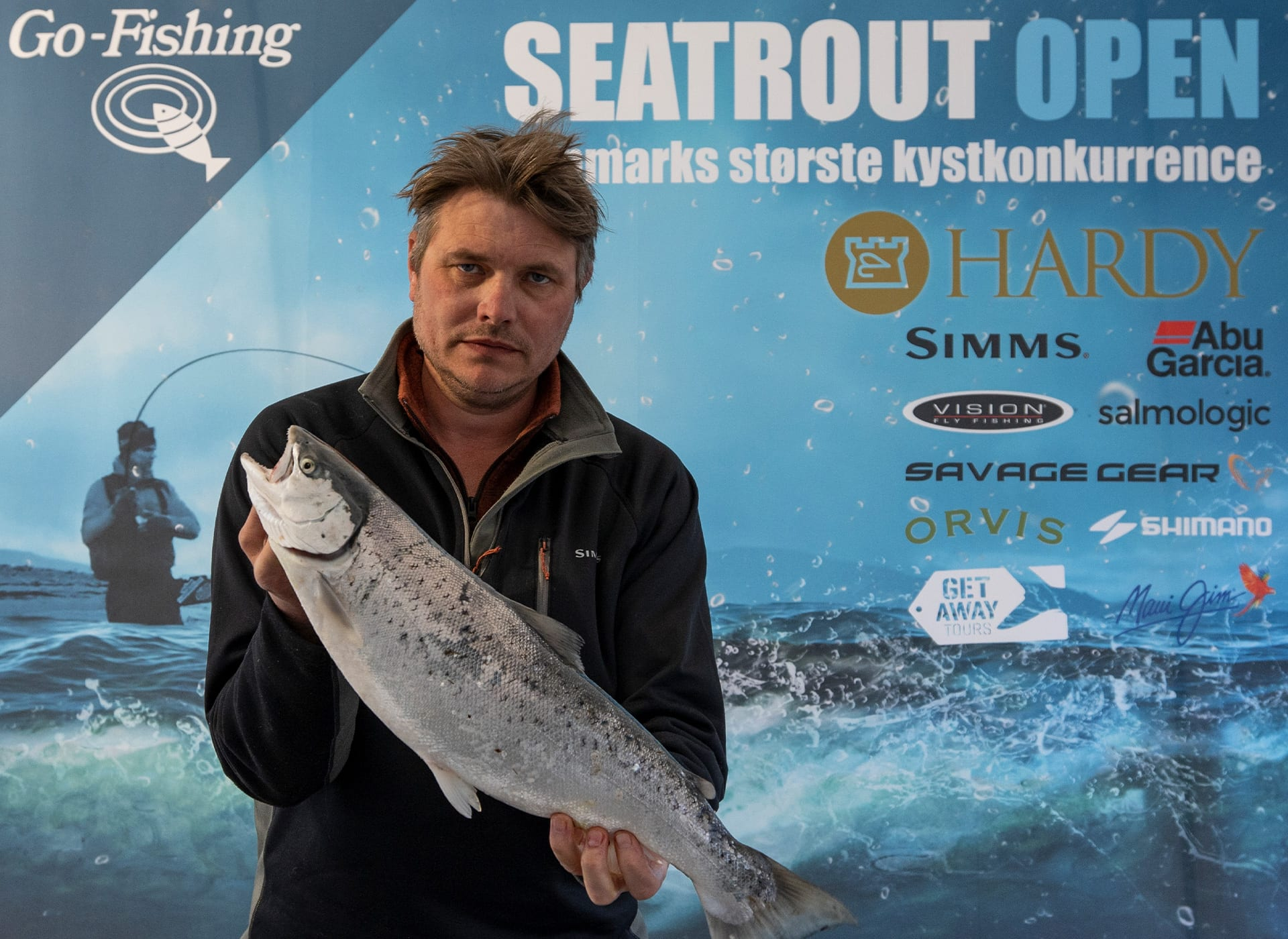 Seatrout Open deltager Lars Spring