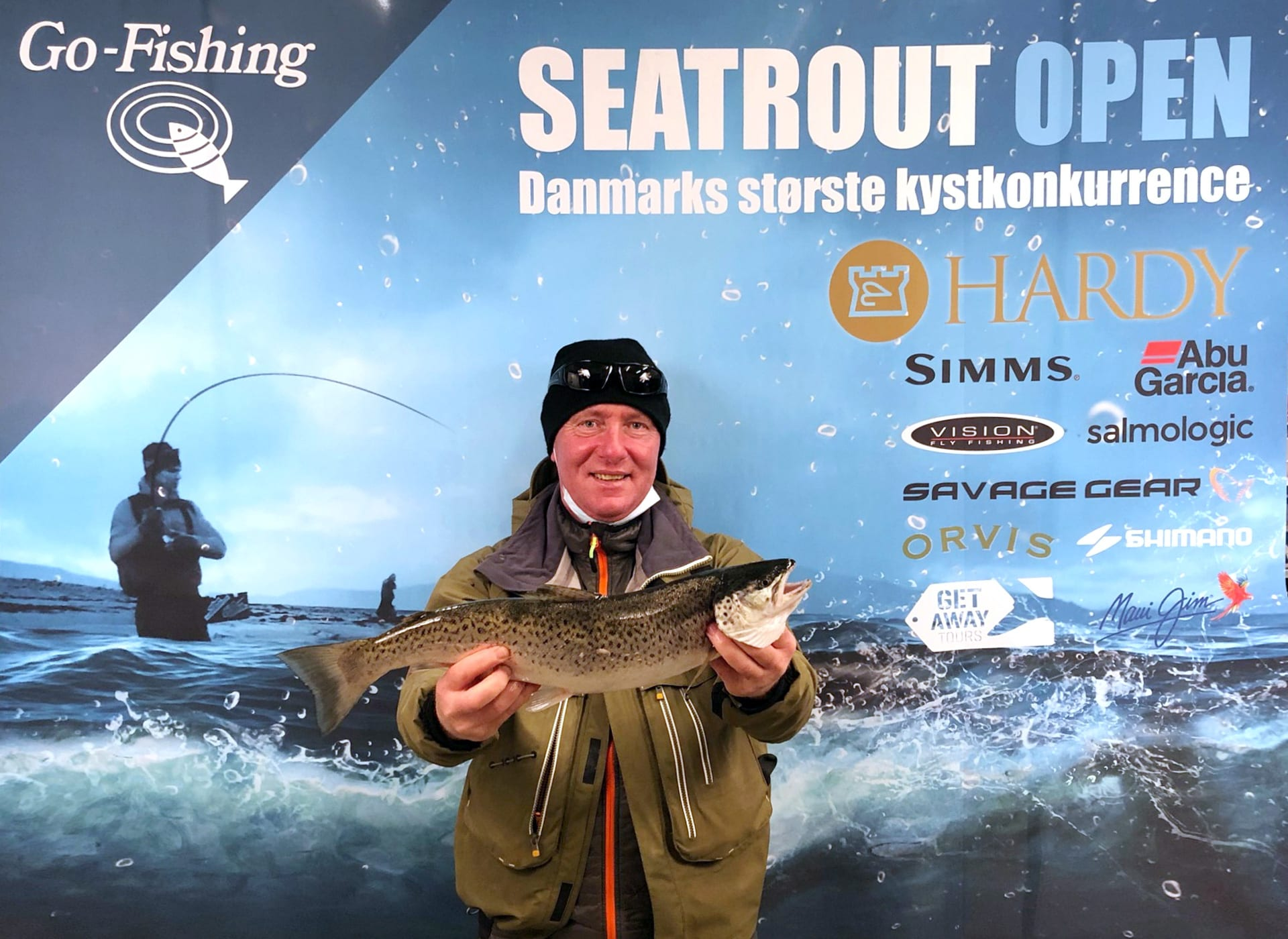 Seatrout Open deltager Peter Daly
