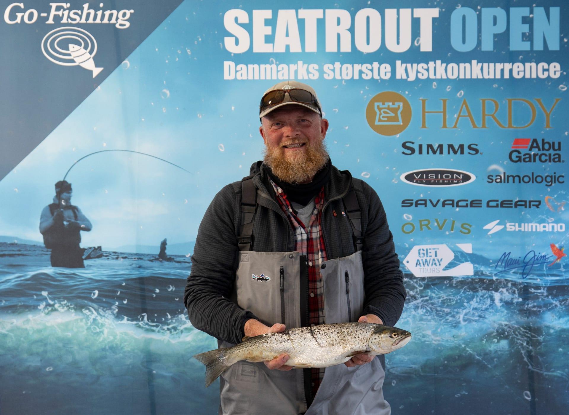 Seatrout Open deltager Søren Høgh
